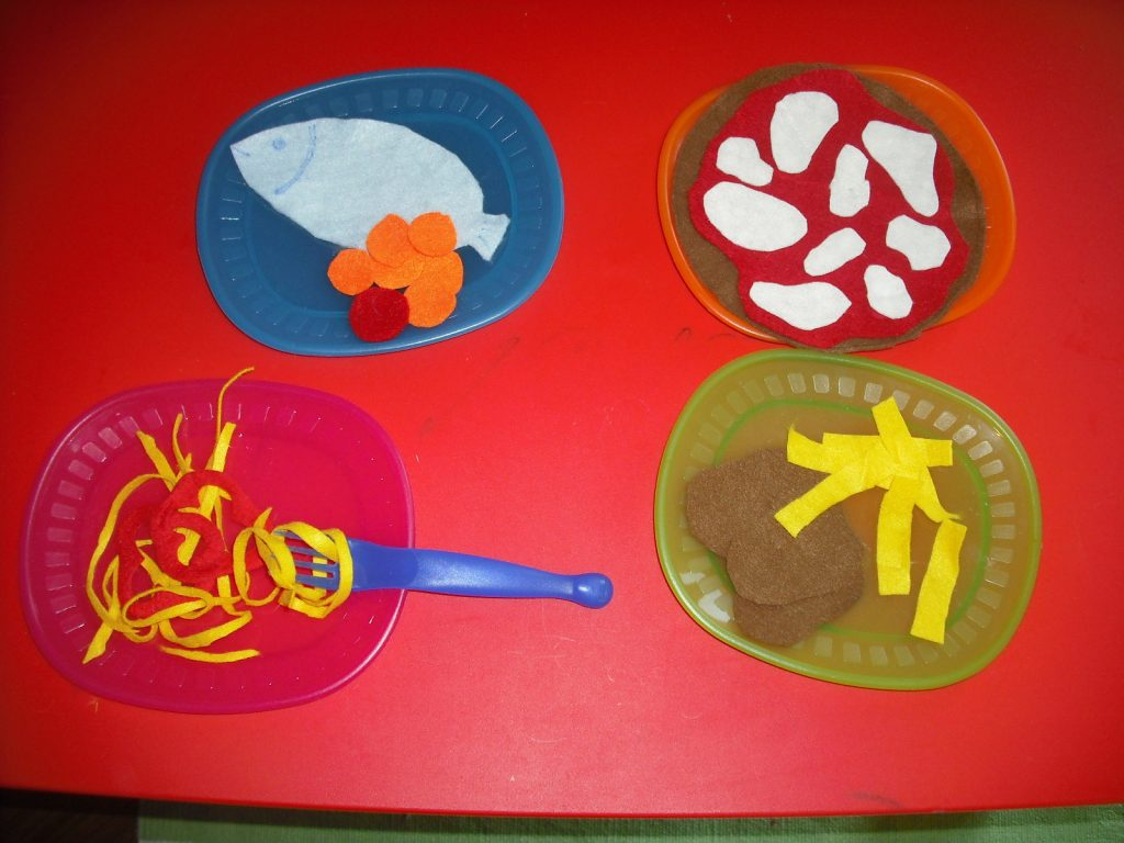 cucina in pannolenci 2