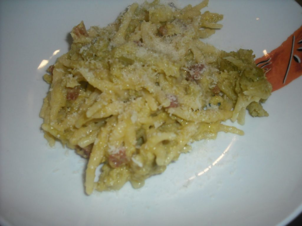 carbonara di broccolo romanesco