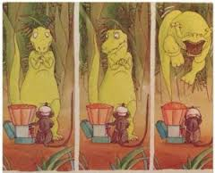 amico del piccolo tirannosauro