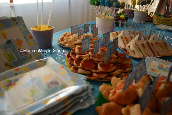 Super La festa per il primo compleanno | MammaMoglieDonna CU99
