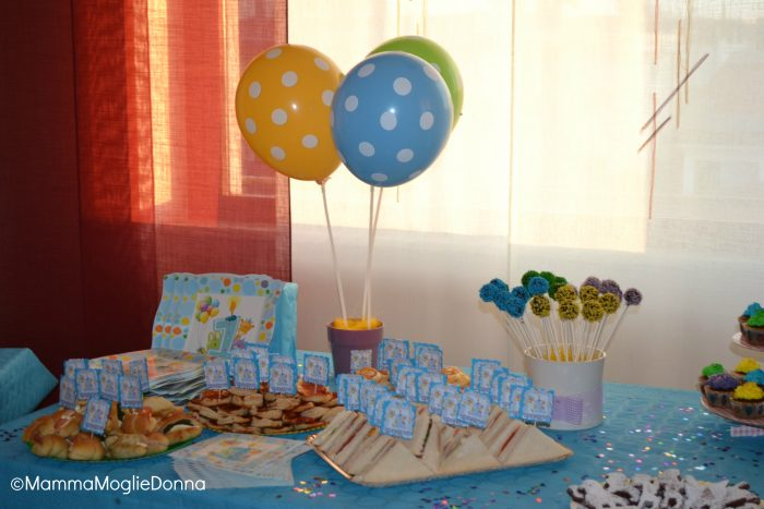 Popolare La festa per il primo compleanno | MammaMoglieDonna FG85