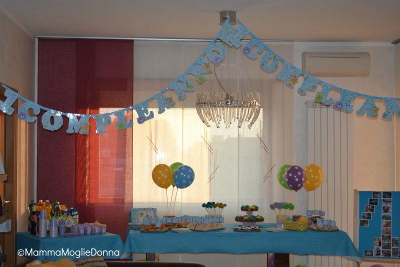 Molto La festa per il primo compleanno | MammaMoglieDonna OL33