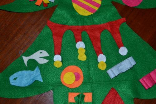 Albero di Natale in pannolenci 3