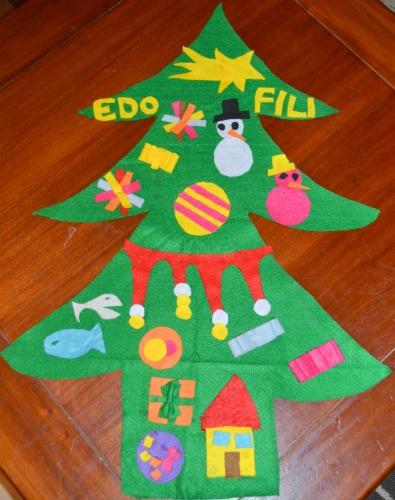 Albero di Natale in pannolenci