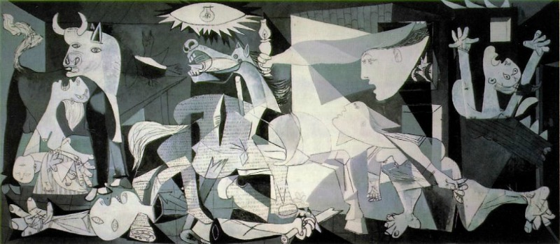 guernica - dipingere Picasso senza saperlo