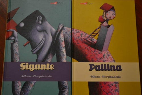 Gigante e Pallina due libri che si leggono insieme