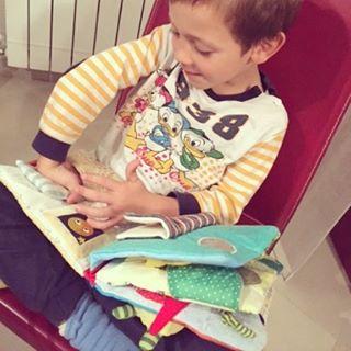 Mamma posso tornare piccolo? Un libro di stoffa per bambinihellip