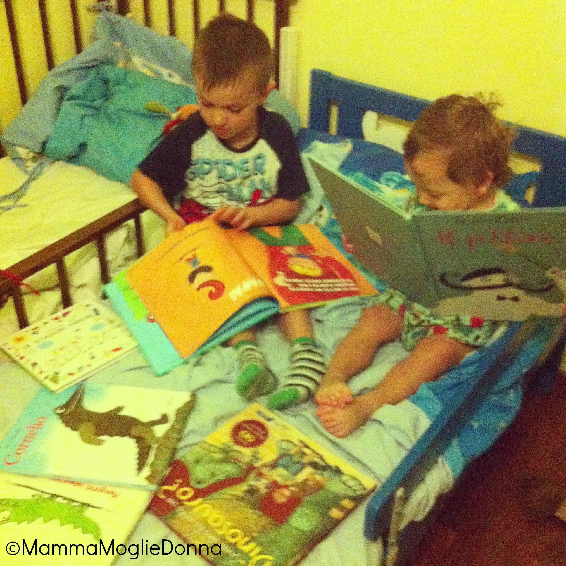 Leggere libri per bambini di 2 anni