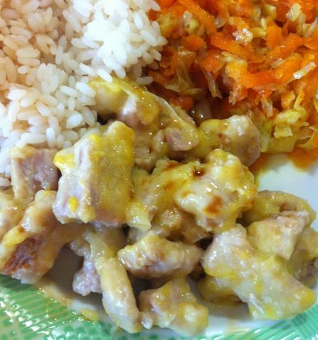 Bocconcini di maiale all'arancia 3