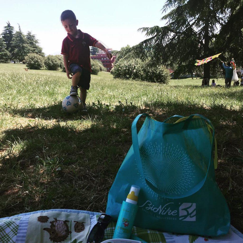 Oggi picnic a Villa Pamphili E prima di giocare vihellip