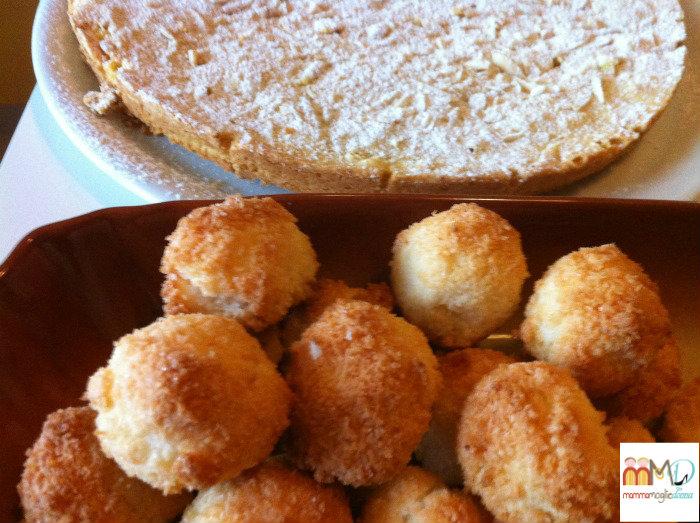 Biscotti al cocco - Torta Mantovana