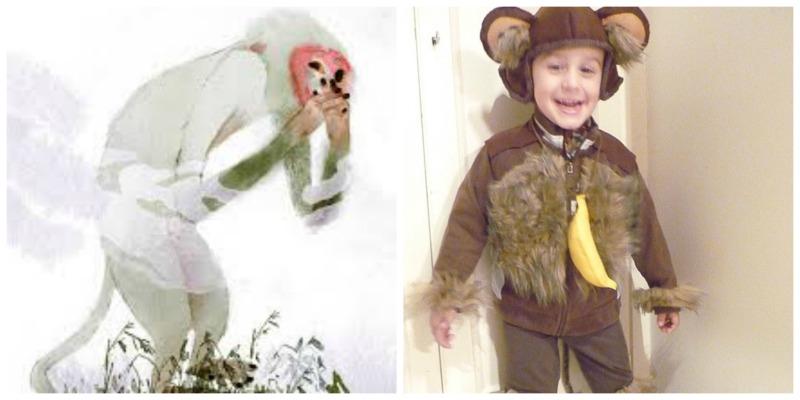 Costumi Carnevale fai da te Scimmia