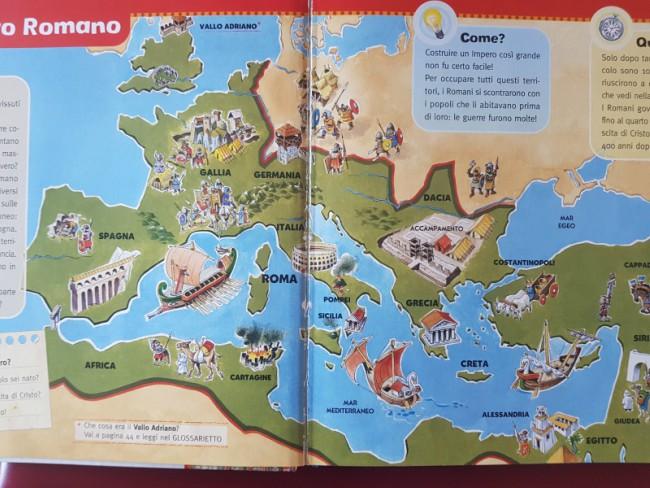 Cartina Antica Roma.Libri Su Roma Per Bambini 3 5 Anni Tony Wolf Mammamogliedonna