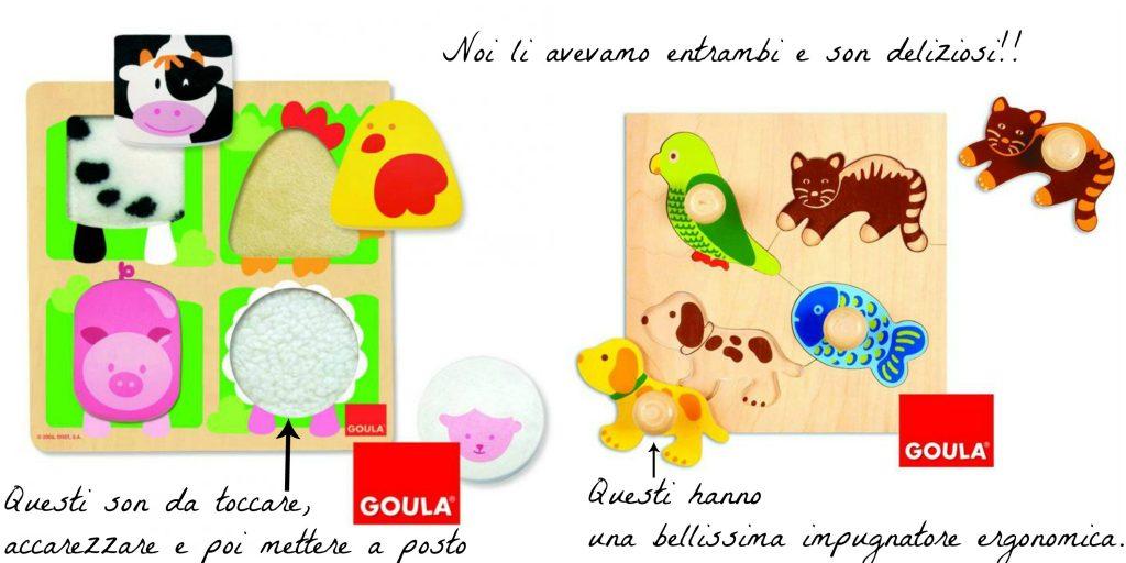 Idee regalo per primo compleanno - Puzzle incastri di legno DOULA