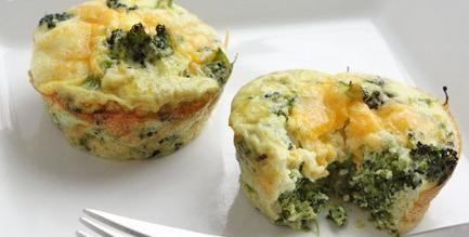 Ricette con verdure invernali - sformatini-broccoli