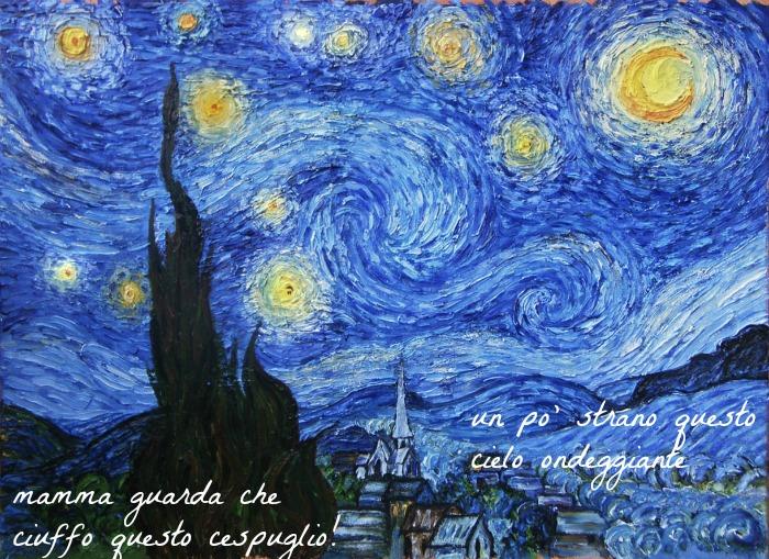 bambini alla scoperta di Van Gogh