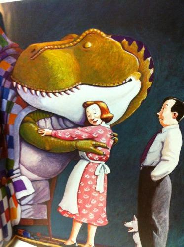 Cosa fanno i dinosauri quando è ora di dormire 7