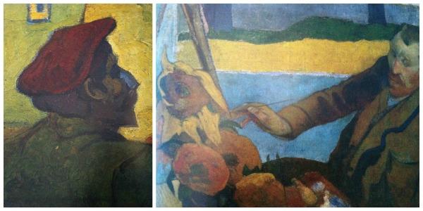 Gauguin rappresentato da Van Gogh 2