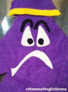 Giocare con le emozioni -  marionette - Il signor triste - la tristezza