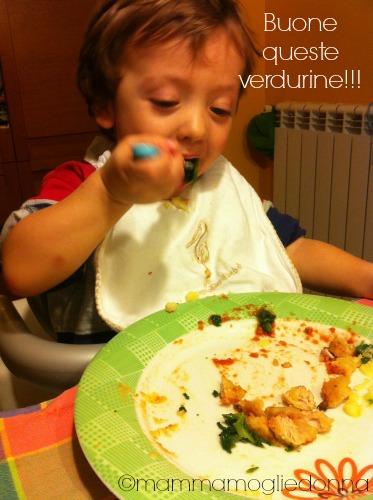 I bambini e le verdure 2