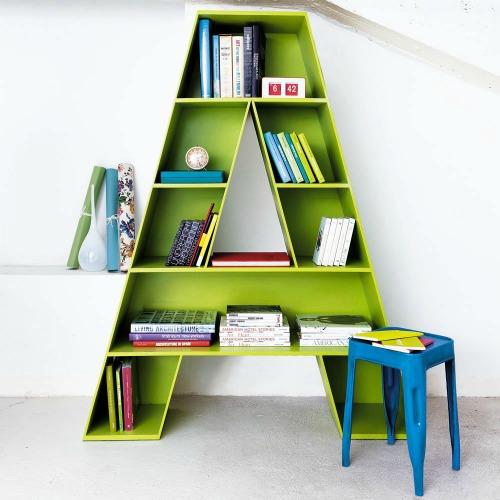Scaffale libreria per bambini - bookcase-children-bedroom