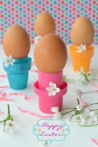 porta uova lavoretti per Pasqua