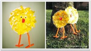 pulcino tondo tondo Pasqua