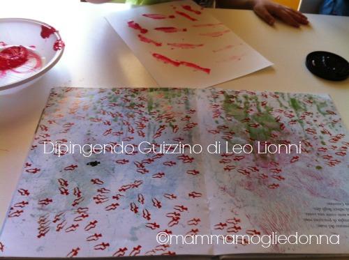 Dipingere Guizzino di Leo Lionni
