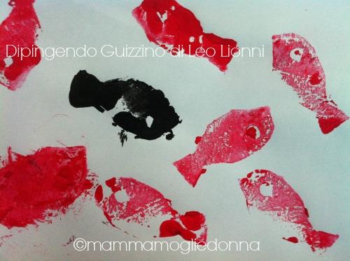 Disegnare Guizzino di Leo Lionni 5