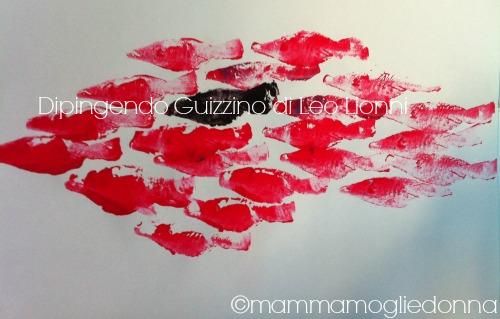 Dipingere Guizzino di Leo Lionni 6