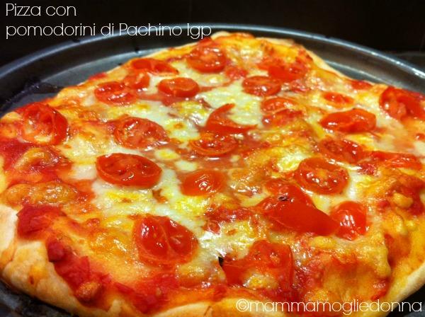 Pizza con pomodorini di pachino Igp 2