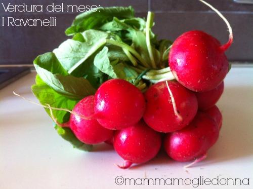 verdura del mese i ravanelli