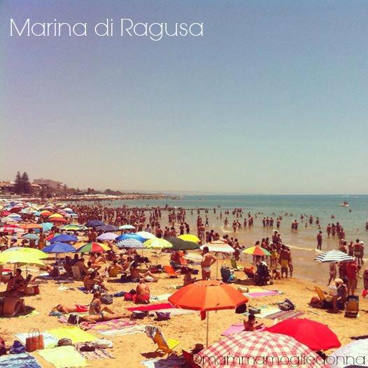 cartolina dalla Sicilia Marina di Ragusa