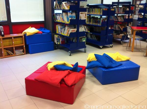 prima volta bambini in biblioteca