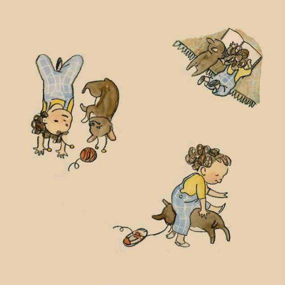 Bambini e animali Olga e Olaf 2