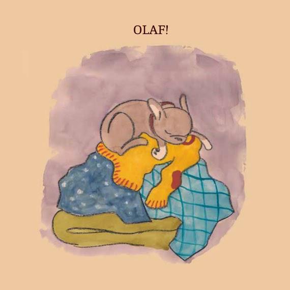Bambini e animali Olga e Olaf 3
