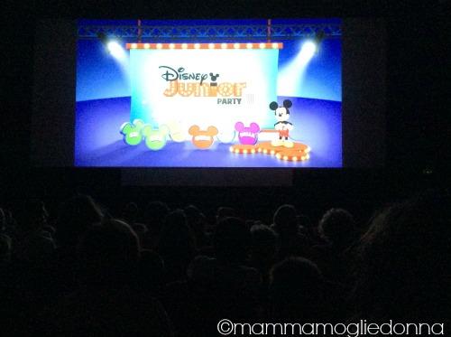 Disney Party Junior la prima volta al cinema 2