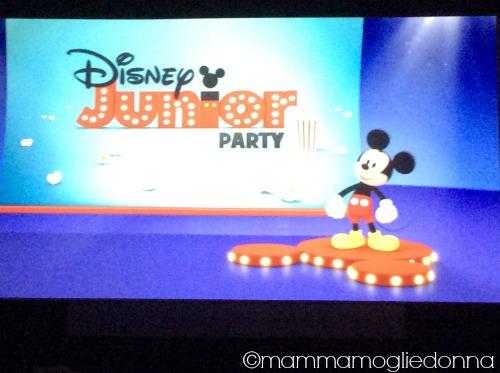 Disney Party Junior la prima volta al cinema