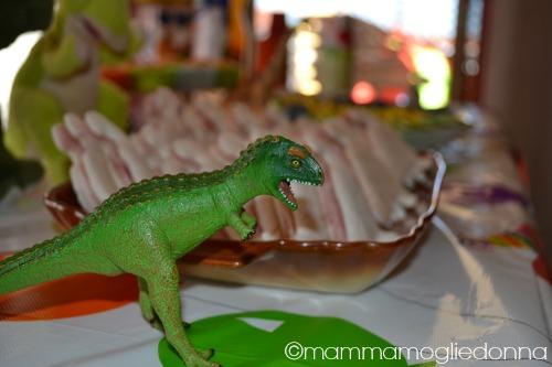 festa di compleanno a tema dinosauri 2