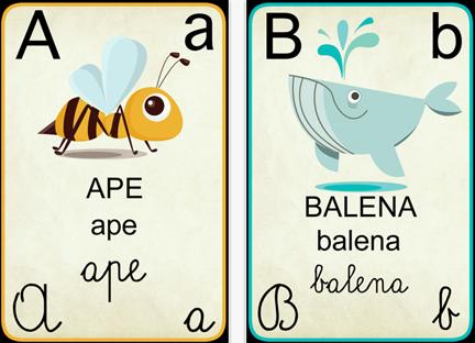 libri per bambini sull'alfabeto