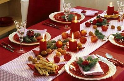 come addobbare la casa per natale tavola natalizia : Eccovi qualche idea e ispirazione per decorare la tavola di Natale: