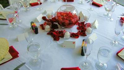 decorare tavola di Natale 2