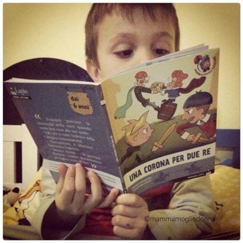 la sua prima lettura
