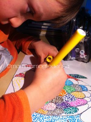 puntinismo e bambini 2