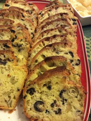 Plumcake alle olive