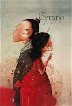 Cyrano rebecca Dautremer 2