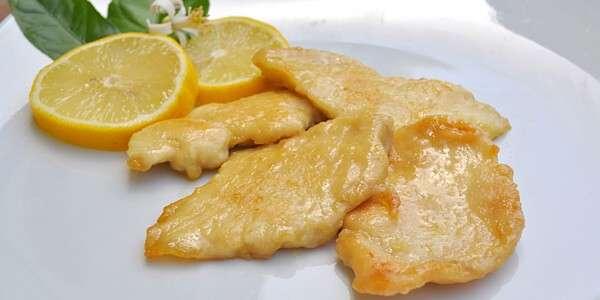 scaloppine limone