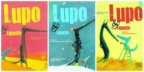 Lupo & Lupetto libri per bambini 5 anni
