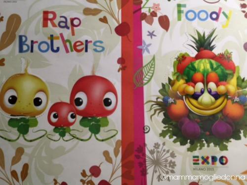 foody mascotte di EXPO 6