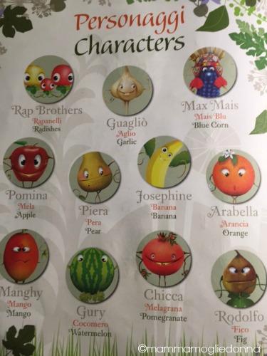 foody mascotte di EXPO 8